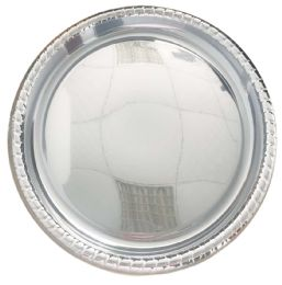 24 Units of Round Serving Tray 16 Silver - Serving Trays