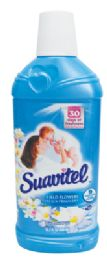 12 Units of SUAVITEL FABRIC SOFTENER 15.2 OZ FIELD FLOWERS - Cleaning Products