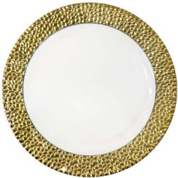 12 Units of CROWN DINNERWARE DINNER PLATE - Plastic Bowls and Plates
