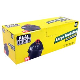 12 Units of Real Tough Trash Bag 26 Gl 30 - Garbage & Storage Bags
