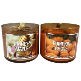 6 Units of SCENTED CANDLE 14 OZ PUMPKIN G - Candles & Accessories