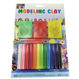 36 Units of SIMPLY TOYS MOULDING CLAY 12 C - Clay & Play Dough
