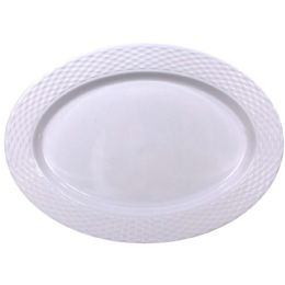 48 Units of Crown Dinnerware Melamine Oval - Plastic Bowls and Plates