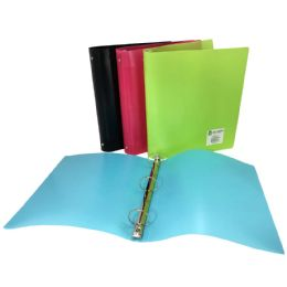 24 Units of Check Plus Poly Binder 1.5 3 - Binders