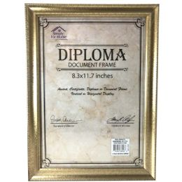 24 Units of SIMPLY FOR HOME DIPLOMA DOCUME - Picture Frames