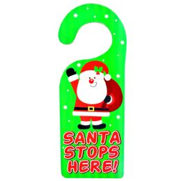 36 Units of Party Solutions Santa Stops he - Christmas Decorations