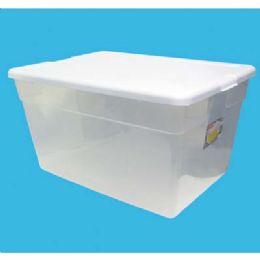 8 Units of STERILITE STORAGE BOX 56 QT/53 - Storage & Organization