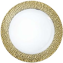 12 Units of CROWN DINNERWARE DESSERT PLATE - Plastic Bowls and Plates