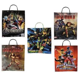 60 Units of LICENSED PLASTIC BAG 13X15 A - Gift Bags