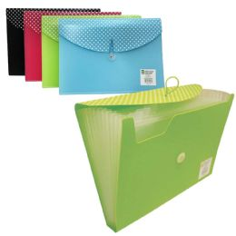 12 Units of Check Plus 13 Tab Poly Expandi - Folders & Portfolios