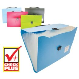 12 Units of CHECK PLUS FILE HOLDER 13 POCK - Folders & Portfolios