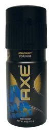 12 Units of AXE BODY SPRAY 4OZ ANARCHY - Deodorant