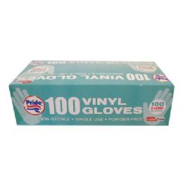 10 Units of DISPOZEIT VINYL GLOVES 100 CT - Kitchen Gloves