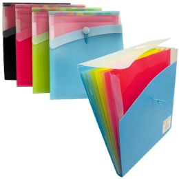 12 Units of CHECK PLUS 7 TAB POLY EXPANDIN - Folders & Portfolios