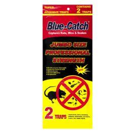72 Units of BLUE CATCH JUMBO GLUE TRAP 2 C - Bug Repellants