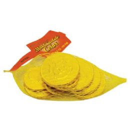 48 Units of MILK CHOCOLATE COINS MESH 1.5 - Store