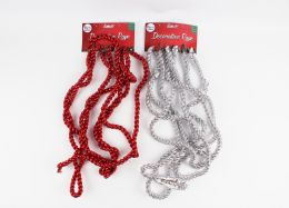 48 Units of Party Solution Tinsel Garland - Costumes & Accessories