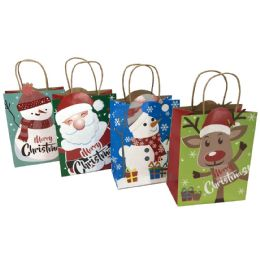 48 Units of Party Solutions Glitter Christ - Gift Bags Christmas