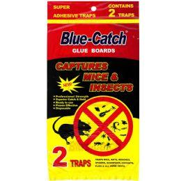 144 Units of BLUE CATCH GLUE TRAP 2 PK - Bug Repellants
