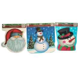 48 Units of Party Solutions Christmas Wind - Christmas Decorations