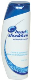 12 Units of HEAD AND SHOULDERS CLASSIC CLEAN SHAMPOO 350ML - Shampoo & Conditioner