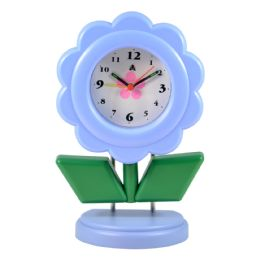 5 Units of Desk Clock Standing Flower Sty - Clocks & Timers