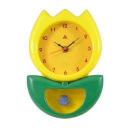 6 Units of HANGING CLOCK FLOWER STYLE IN - Clocks & Timers