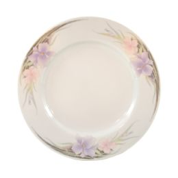 24 Units of STONEWARE 7 PLATE FLORAL DESI - Plastic Bowls and Plates