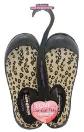 30 Units of SKIDDERS LADIES LEOPARD COMFORT SLIPPERS/WATER SHOES HEAVY DUTY ASST. SIZES PRE-PRICED $24.99 - Women's Slippers