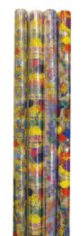 72 Units of Cello Gift Wrap 12.5 Sq Ft Astd Designs/colors - Gift Wrap