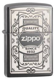 Zippo Black Ice Laser Engrave - Lighters