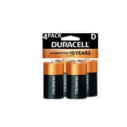 12 Units of Duracell D 4 Pk Coppertone Batteries - Batteries