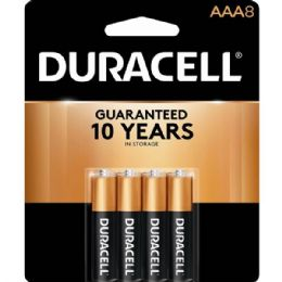 40 Units of Duracell Aaa 8 Pk Coppertone Batteries - Batteries