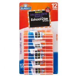 24 Units of ELMERS 12CT SCHOOL GLUE STICKS - Store