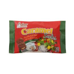 18 Units of Palmers Carmel Santas 4.5 oz - Christmas Decorations
