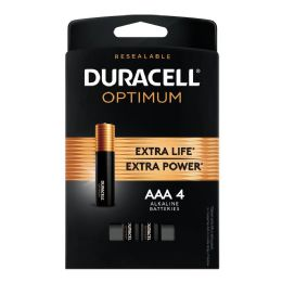 24 Units of Duracell Optimum Aaa4 - Batteries