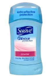 12 Units of SUAVE SOLID POWDER 1.4 OZ 24 HOUR PROTECTION - Deodorant