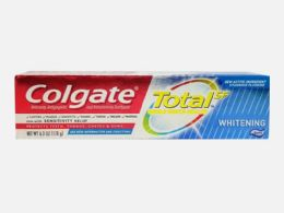 24 Units of COLGATE 6.3 OZ TOTAL WHITENING PASTE - Toothbrushes and Toothpaste