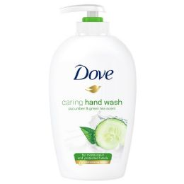 12 Units of DOVE LIQUID HAND WASH 250 ML FRESH TOUCH (CUCUMBER AND GREEN TEA) - Store