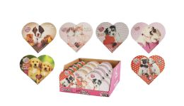 24 Units of BEST FRIENDS HEART BOX 2 OZ - Valentines