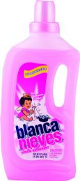 12 Units of BLANCA NIVES 33.8 OZ LIQUID DETERGENT - Laundry Detergent