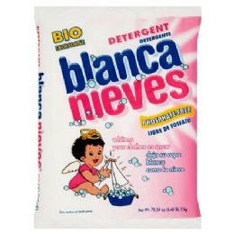 10 Units of BLANCA NIVES 4 LB DETERGENT - Laundry Detergent