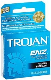 12 Units of Trojan 3's Enz Spl Blue Armor - Personal Care Items