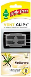 24 Units of Little Tree Vanilla Roma Vent Clip Freshener - Air Fresheners