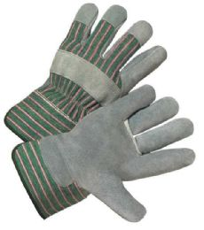 12 Units of Working Gloves Leather 1 Pair - Working Gloves