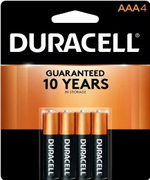 54 Units of DURACELL AAA 4 PK COPPERTONE BATTERIES - Batteries