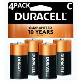 18 Units of Duracell C 4 Pk Coppertone Batteries - Batteries