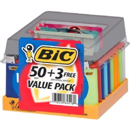 50 Units of Bic Lighter Mini 50+3 ct - Lighters