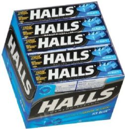 20 Units of HALLS 9 PCS ICE PEPPERMINT - Pain and Allergy Relief