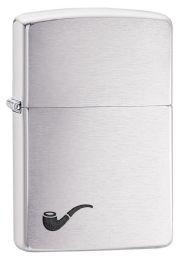 ZIPPO BRUSHED CHROME COLOR IMAGE - Lighters